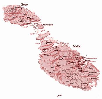 Vinařské oblasti Malta