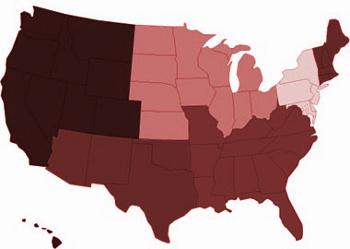 Vinařské oblasti USA