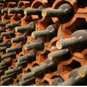 Skladování vína ve vinném sklepě