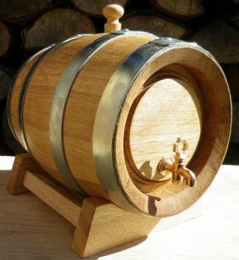 Dubový soudek na víno o objemu 3 l