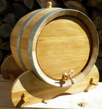 Dubový soudek na zrání vína o objemu 50 l