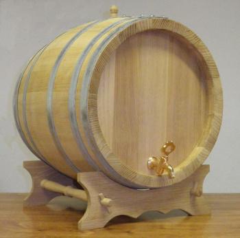 Akátový soudek na alkohol o objemu 50 l