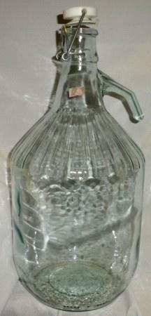 Demižon D12 na víno skleněný o objemu 5 l