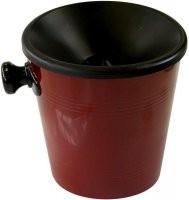 Plivátko na víno malé - objem 1 litr. Barva BORDÓ.