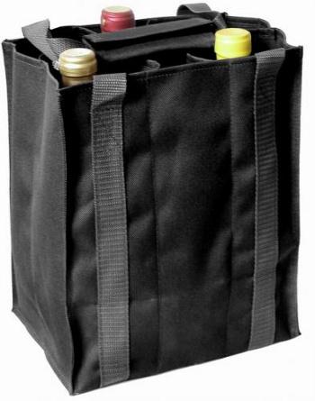 Taška na 6 láhví vína černá