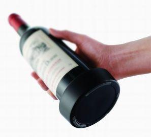 Černý podtácek na láhev - VacuVin
