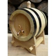 Dřevěný akátový soudek 1 l