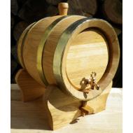 Dřevěný dubový soudek 5 l