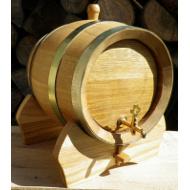 Dřevěný dubový soudek 10 l