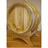 Dřevěný akátový soudek 25 l