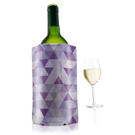 Chladič na víno fialový VacuVin