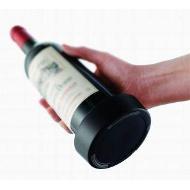 Černý podtácek na láhev vína VacuVin