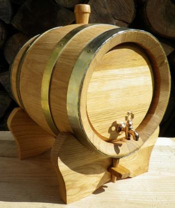 Dubový soudek na víno o objemu 5 l