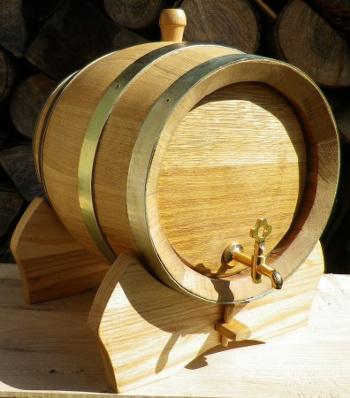 Dubový soudek na víno o objemu 10 l