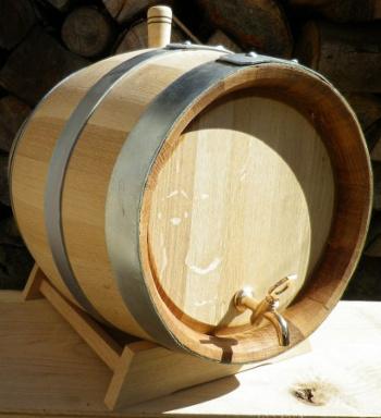 Dubový soudek na víno o objemu 30 l