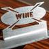 Barva stojánku na víno - nerez broušená