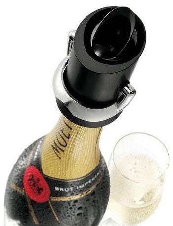 Uzávěr na sekt Champagne Saver-VacuVin