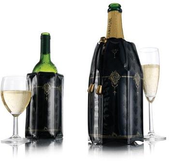 Chladič na víno a sekt Klasik dárková sada 2 ks