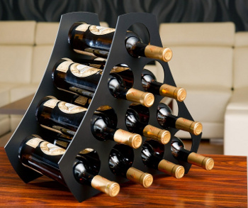 Granát - stojan na víno