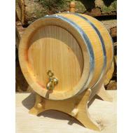 Dřevěný třešňový soudek 5 l