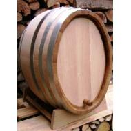 Oválný dubový sud na víno 100 l