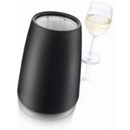 Chladič na víno Elegant černý VacuVin