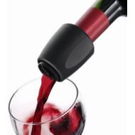 Nálevka na víno černá VacuVin